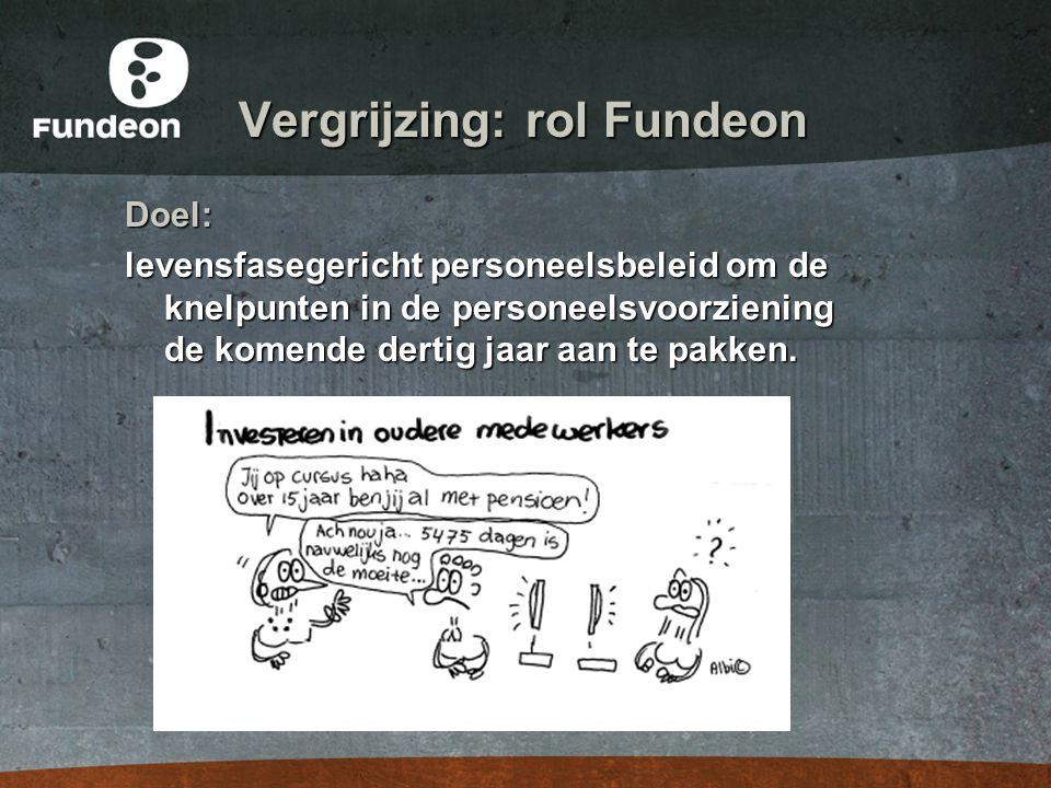 Vergrijzing: rol Fundeon