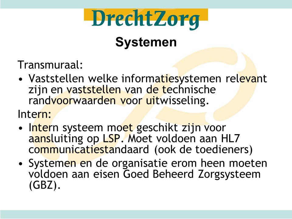 Systemen Transmuraal: