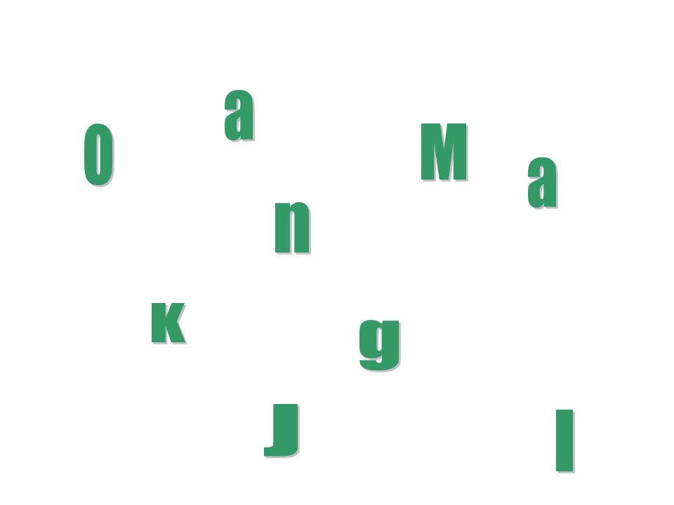 a o M a n K g J I