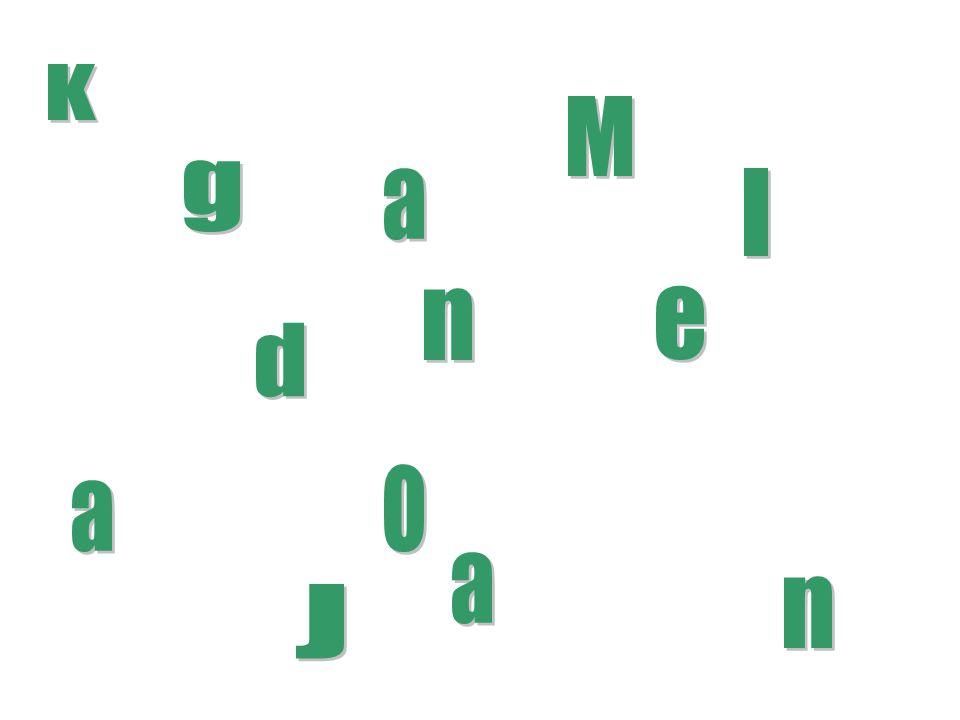 K M g a I n e d o a a n J