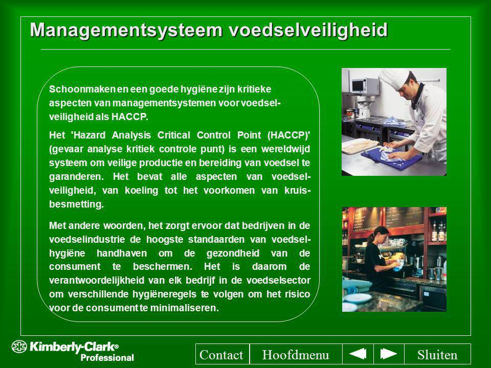 Managementsysteem voedselveiligheid