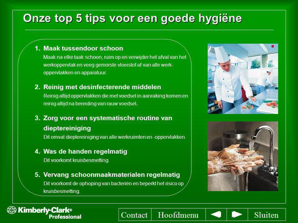 Onze top 5 tips voor een goede hygiëne