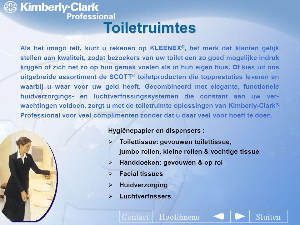 Toiletruimtes Contact Hoofdmenu Sluiten