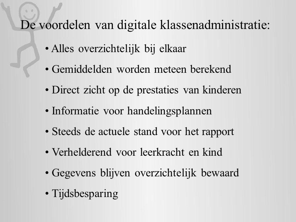 De voordelen van digitale klassenadministratie:
