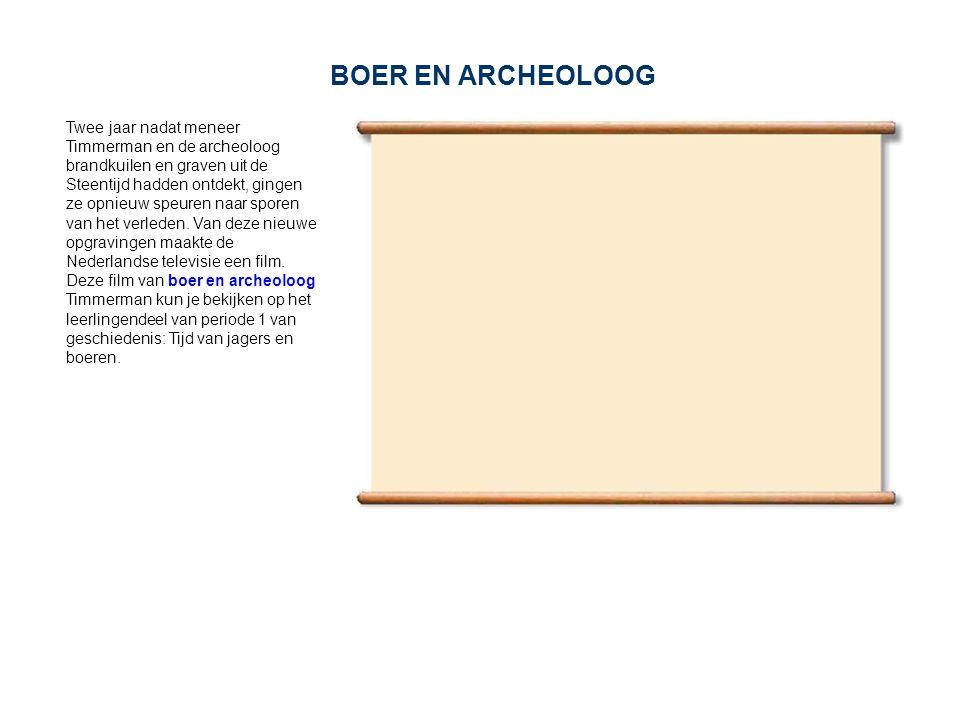 BOER EN ARCHEOLOOG