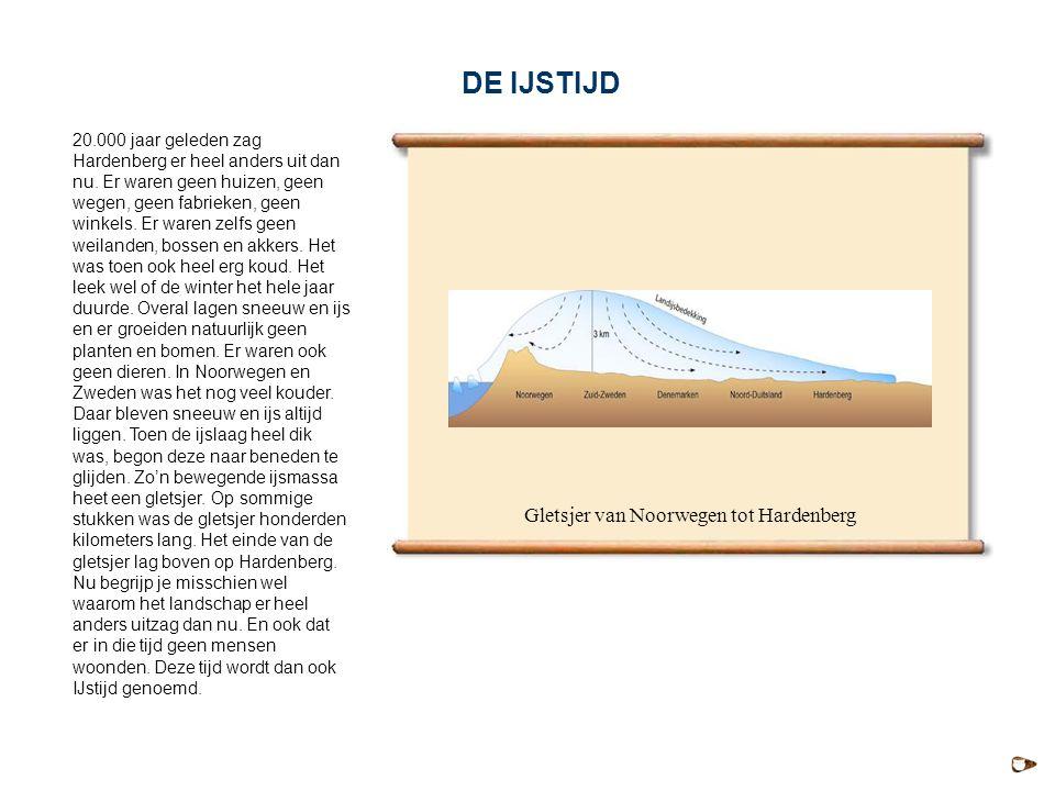 Gletsjer van Noorwegen tot Hardenberg