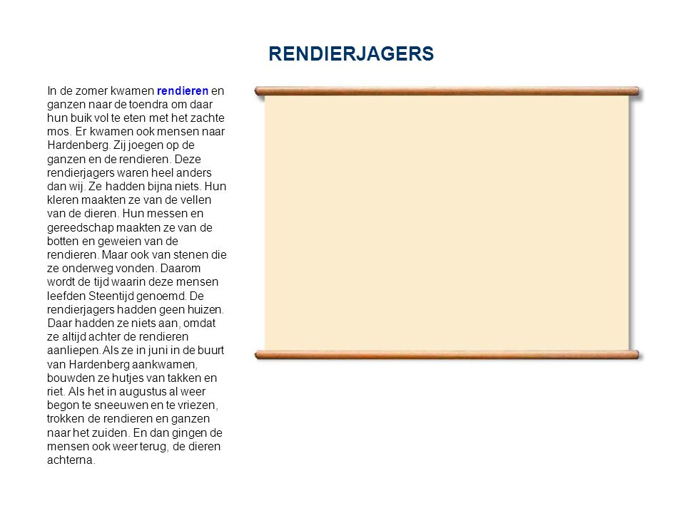 RENDIERJAGERS