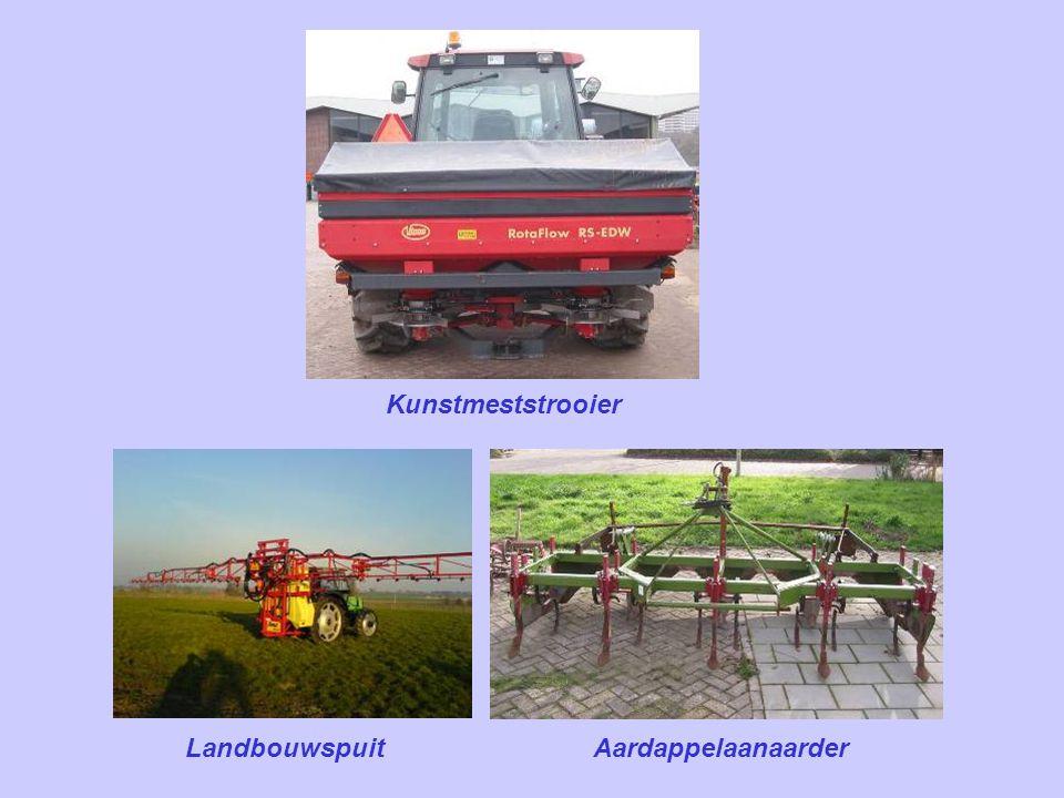 Kunstmeststrooier Landbouwspuit Aardappelaanaarder