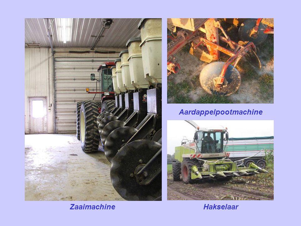 Aardappelpootmachine