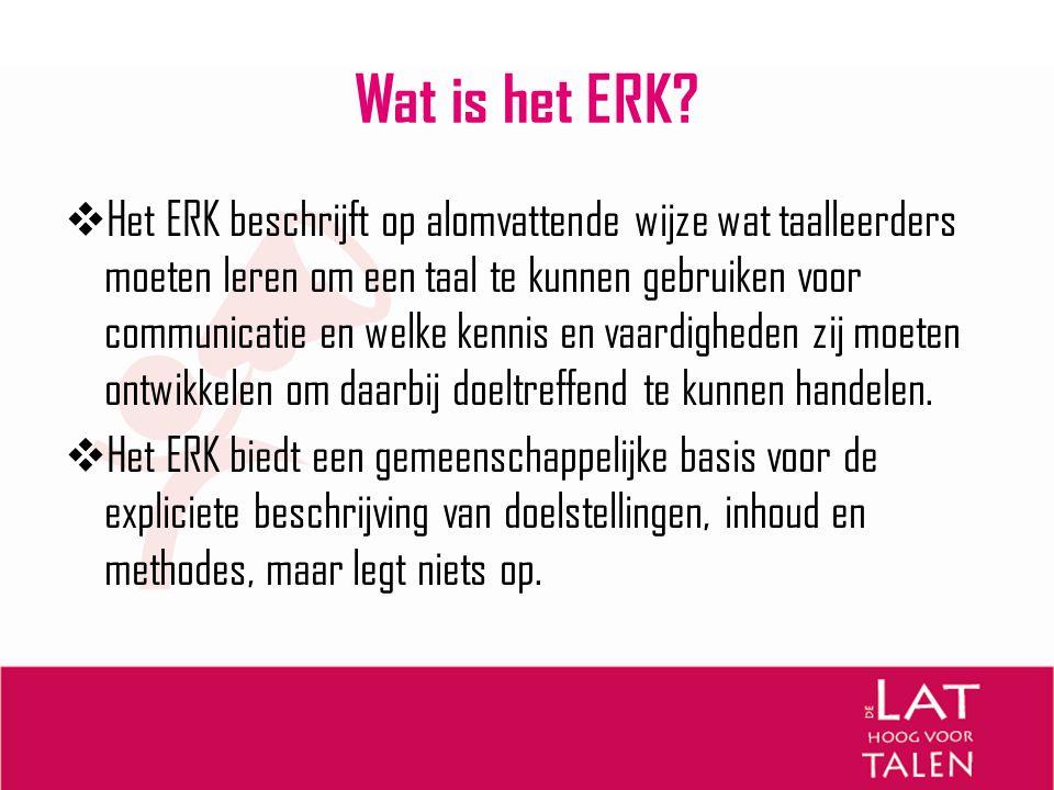 Wat is het ERK