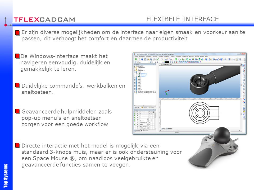FLEXIBELE INTERFACE