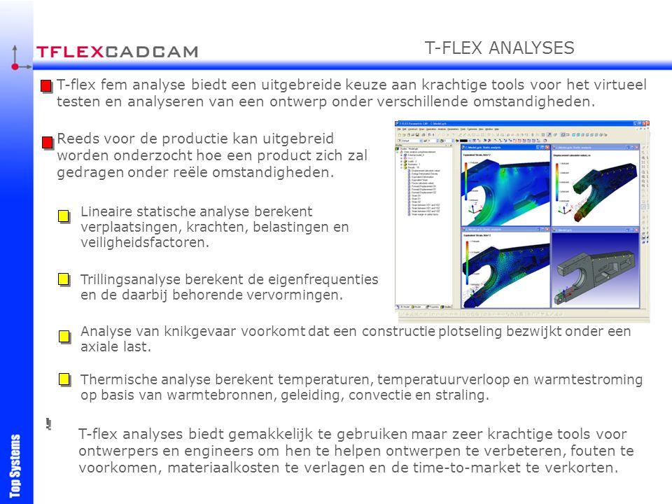 T-FLEX ANALYSES