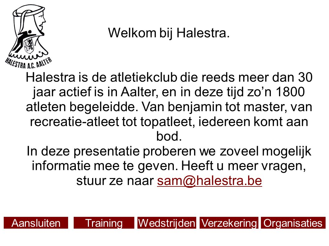 Welkom bij Halestra.