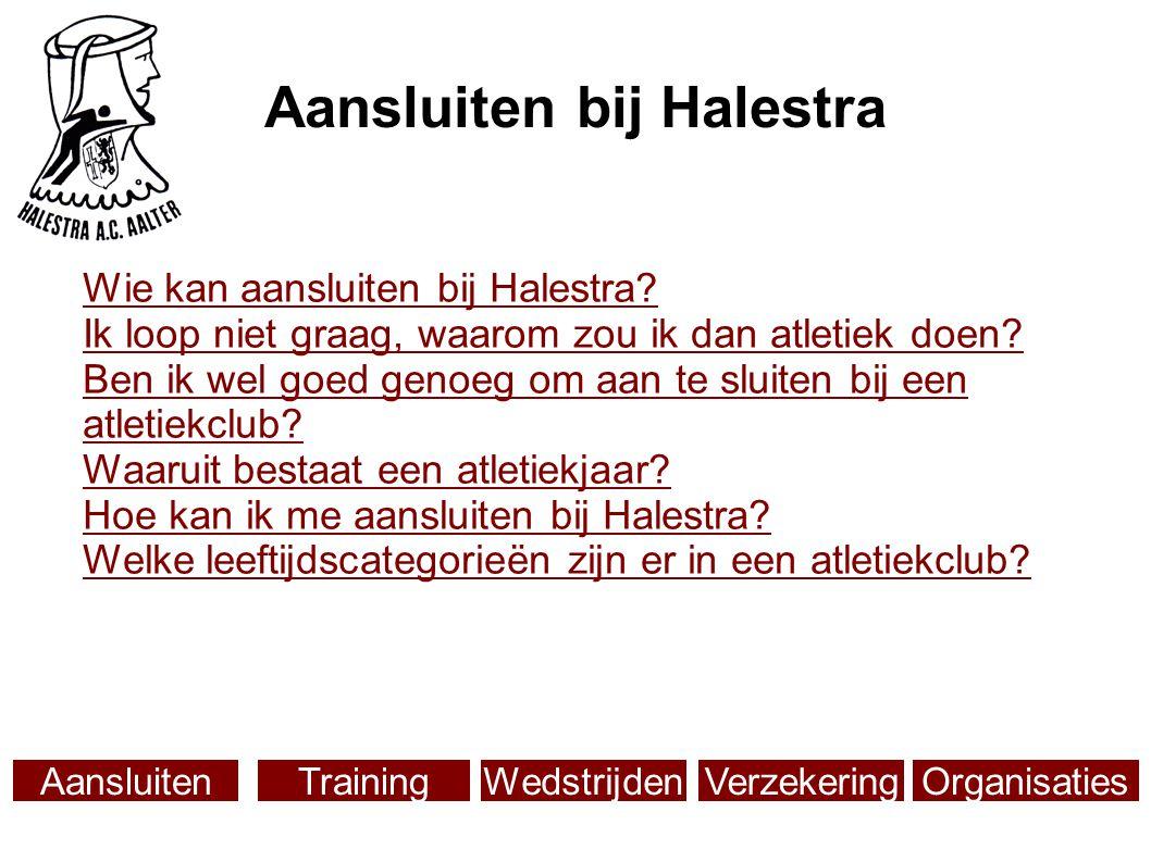 Aansluiten bij Halestra