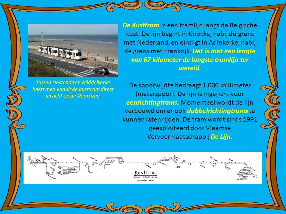 De Kusttram is een tramlijn langs de Belgische kust