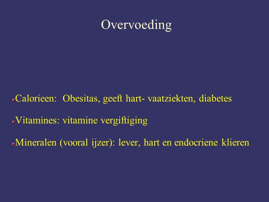 Overvoeding Calorieen: Obesitas, geeft hart- vaatziekten, diabetes