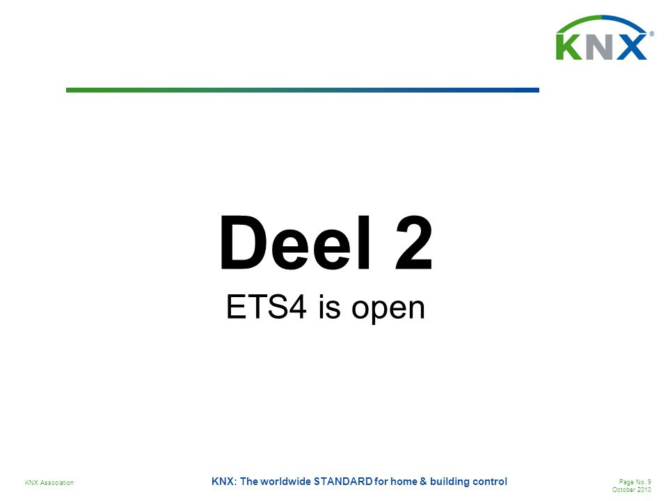 Deel 2 ETS4 is open