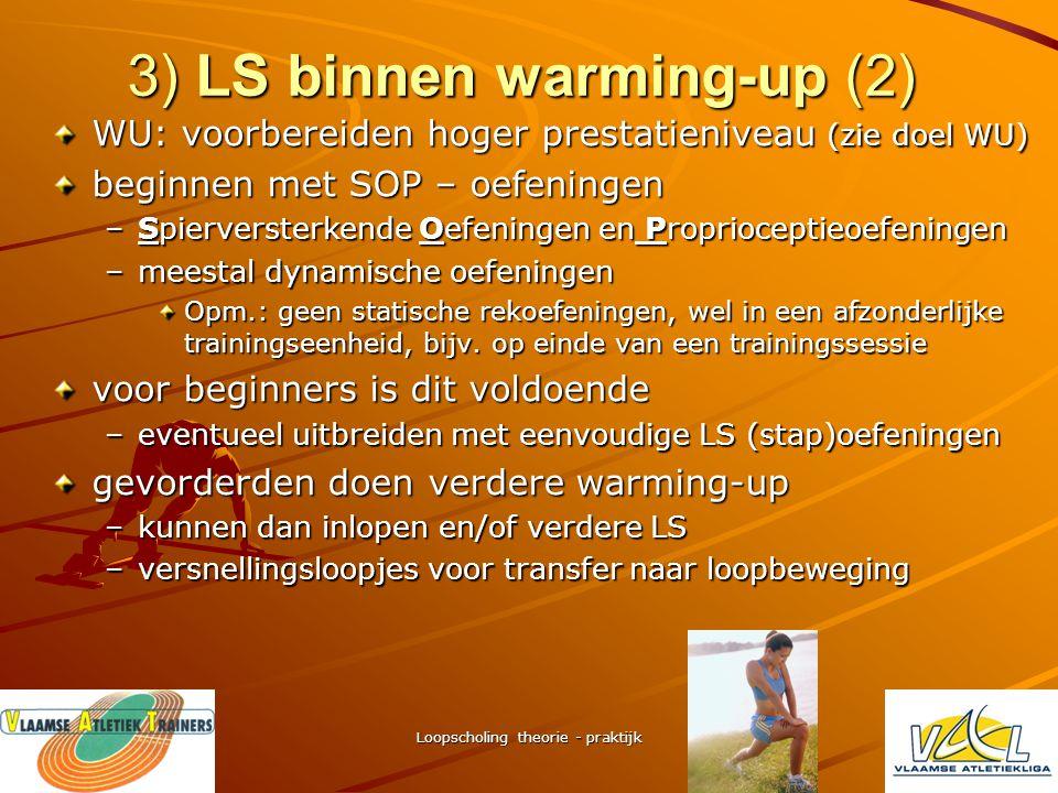 3) LS binnen warming-up (2)