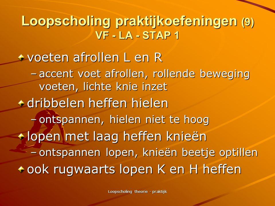 Loopscholing praktijkoefeningen (9) VF - LA - STAP 1