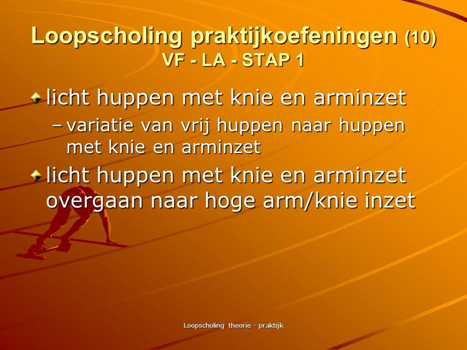 Loopscholing praktijkoefeningen (10) VF - LA - STAP 1