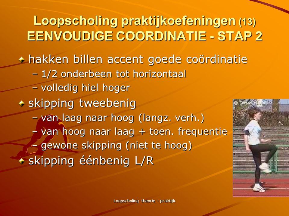 Loopscholing praktijkoefeningen (13) EENVOUDIGE COORDINATIE - STAP 2