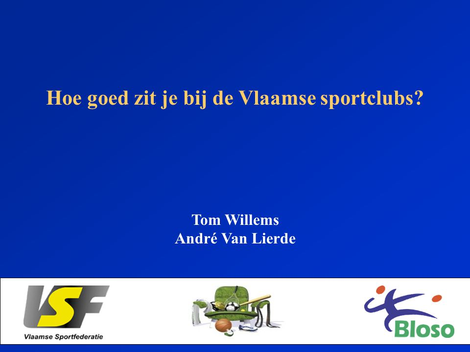 Hoe goed zit je bij de Vlaamse sportclubs