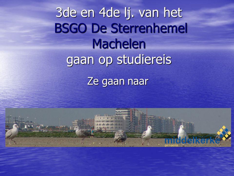 3de en 4de lj. van het BSGO De Sterrenhemel Machelen gaan op studiereis