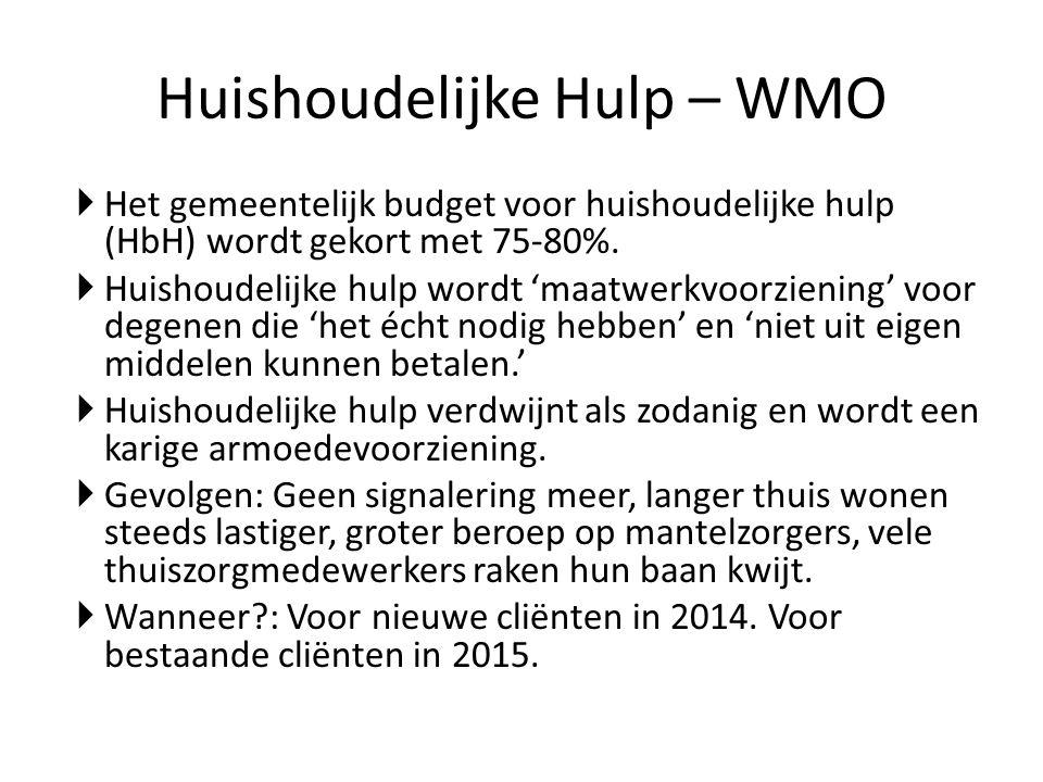 Huishoudelijke Hulp – WMO
