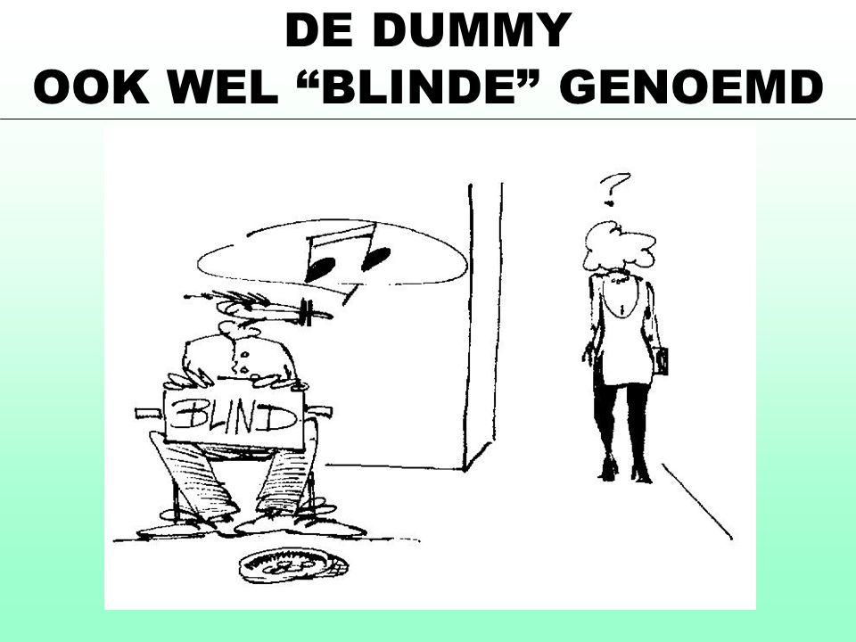 OOK WEL BLINDE GENOEMD