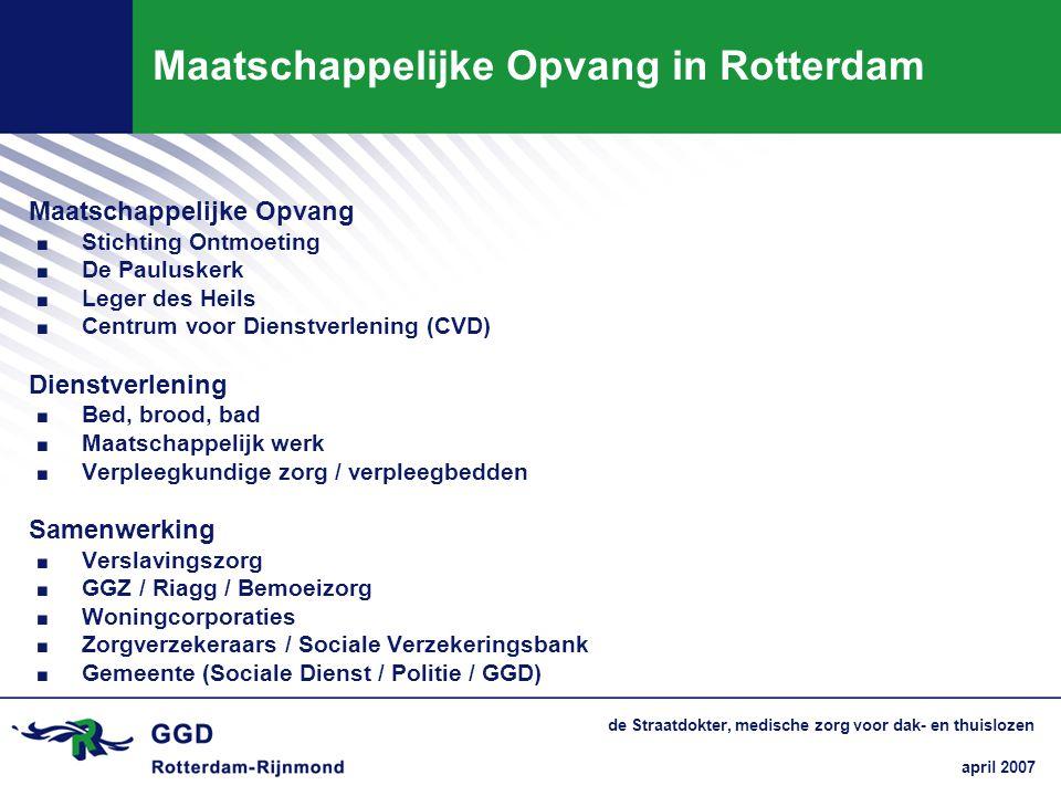 Maatschappelijke Opvang in Rotterdam