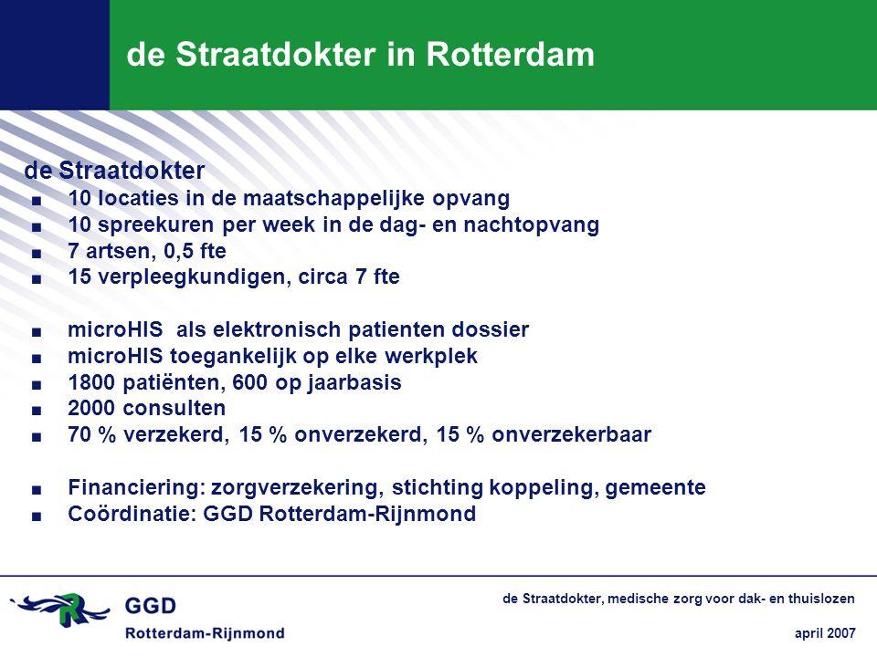 de Straatdokter in Rotterdam