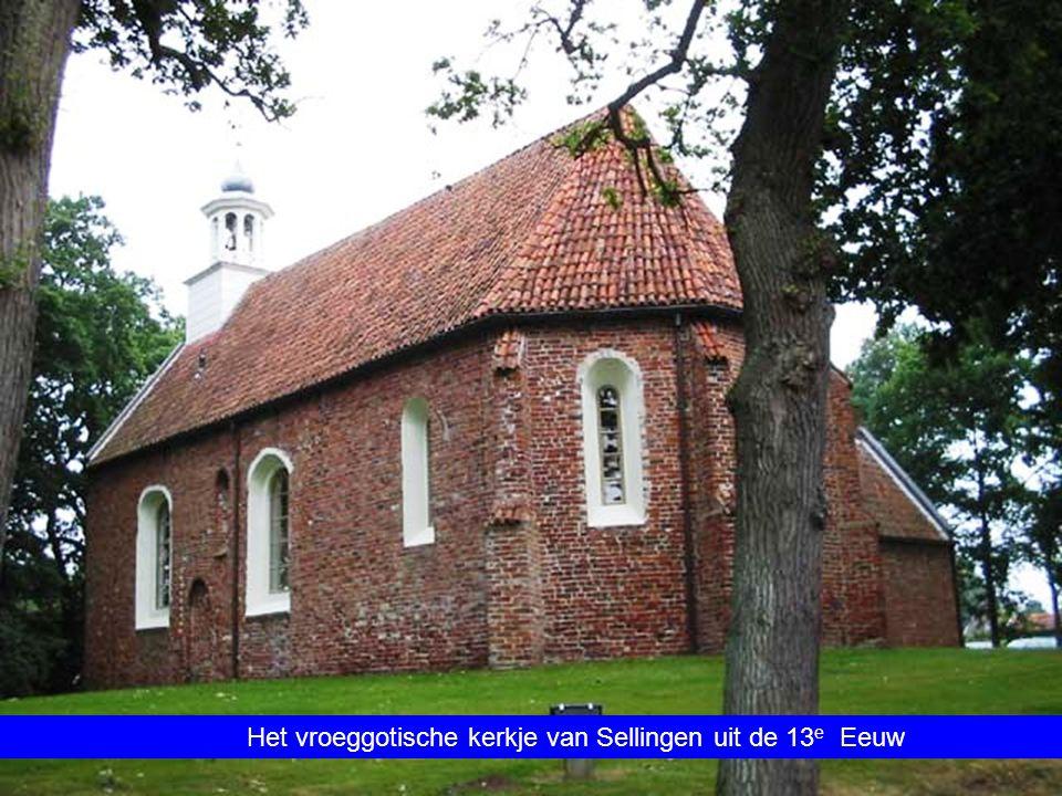 Het vroeggotische kerkje van Sellingen uit de 13e Eeuw