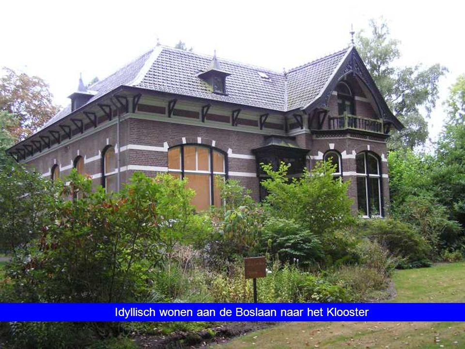 Idyllisch wonen aan de Boslaan naar het Klooster
