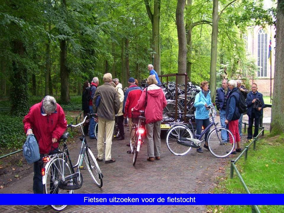 Fietsen uitzoeken voor de fietstocht