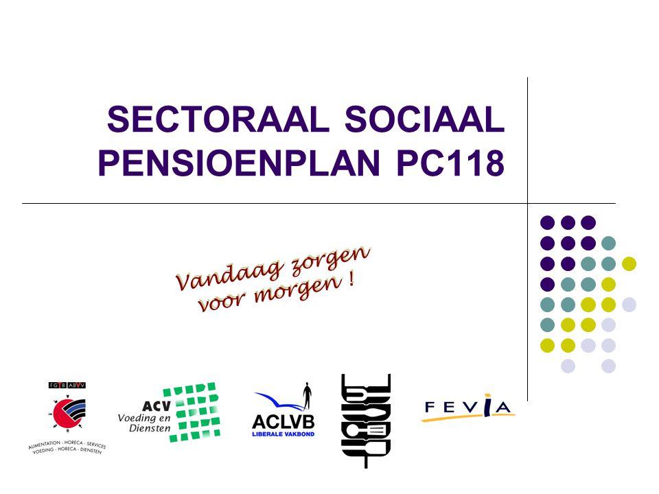 SECTORAAL SOCIAAL PENSIOENPLAN PC118