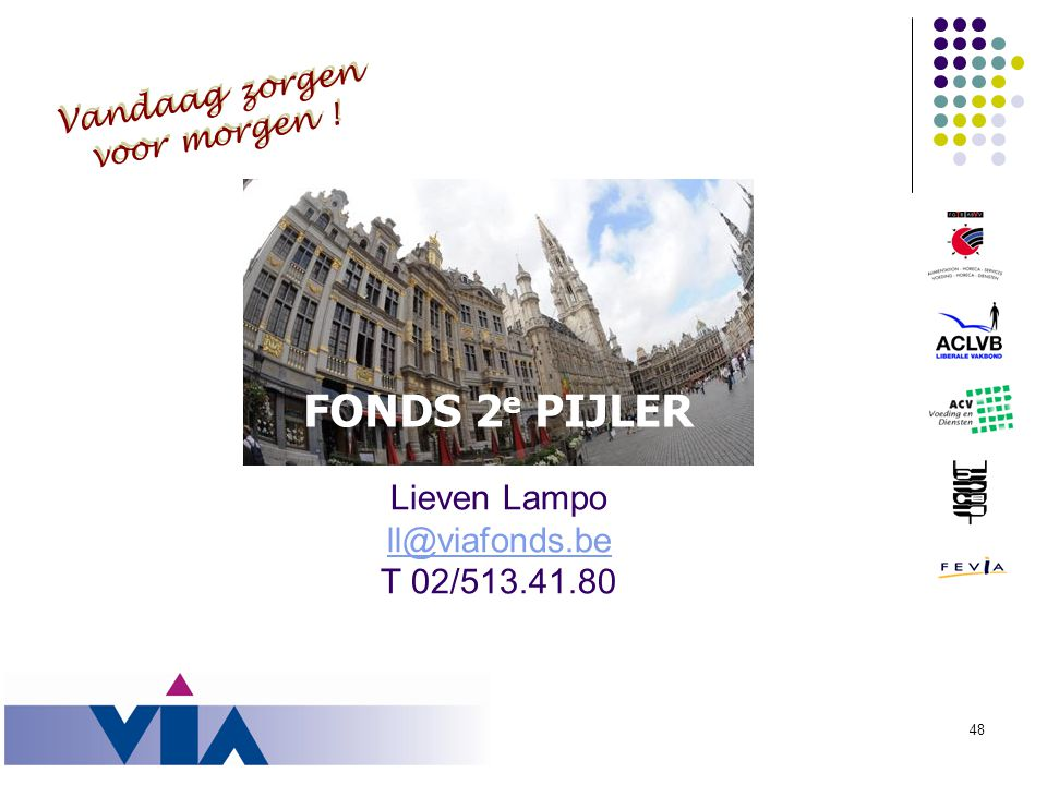 Lieven Lampo ll@viafonds.be T 02/513.41.80