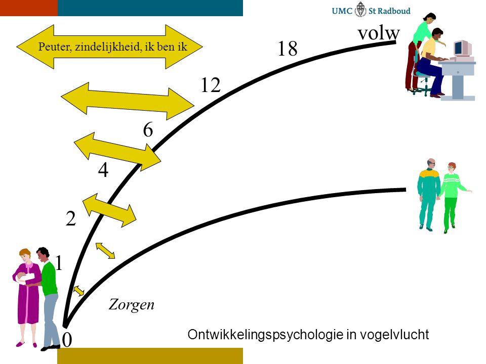 volw 18 12 6 4 2 1 Zorgen Ontwikkelingspsychologie in vogelvlucht