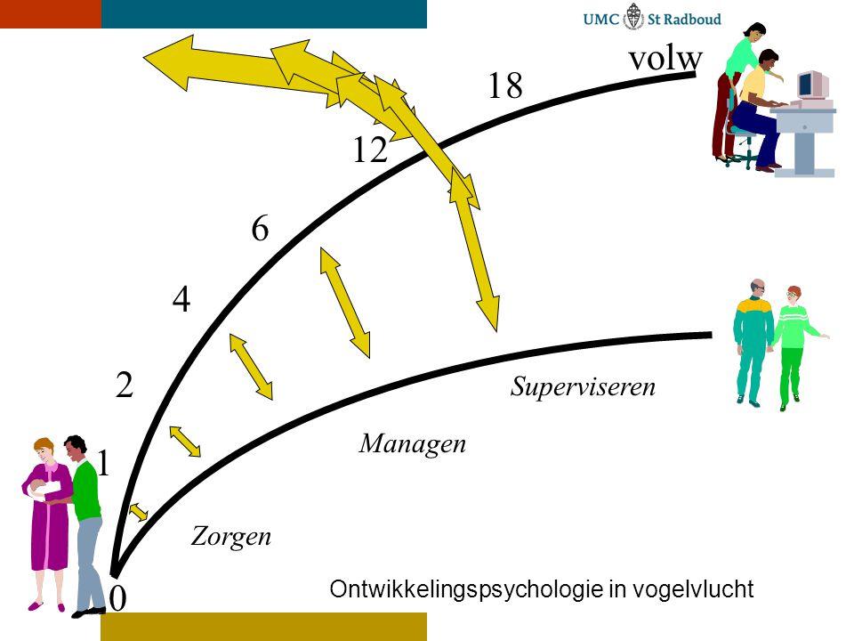 volw 18 12 6 4 2 1 Superviseren Managen Zorgen