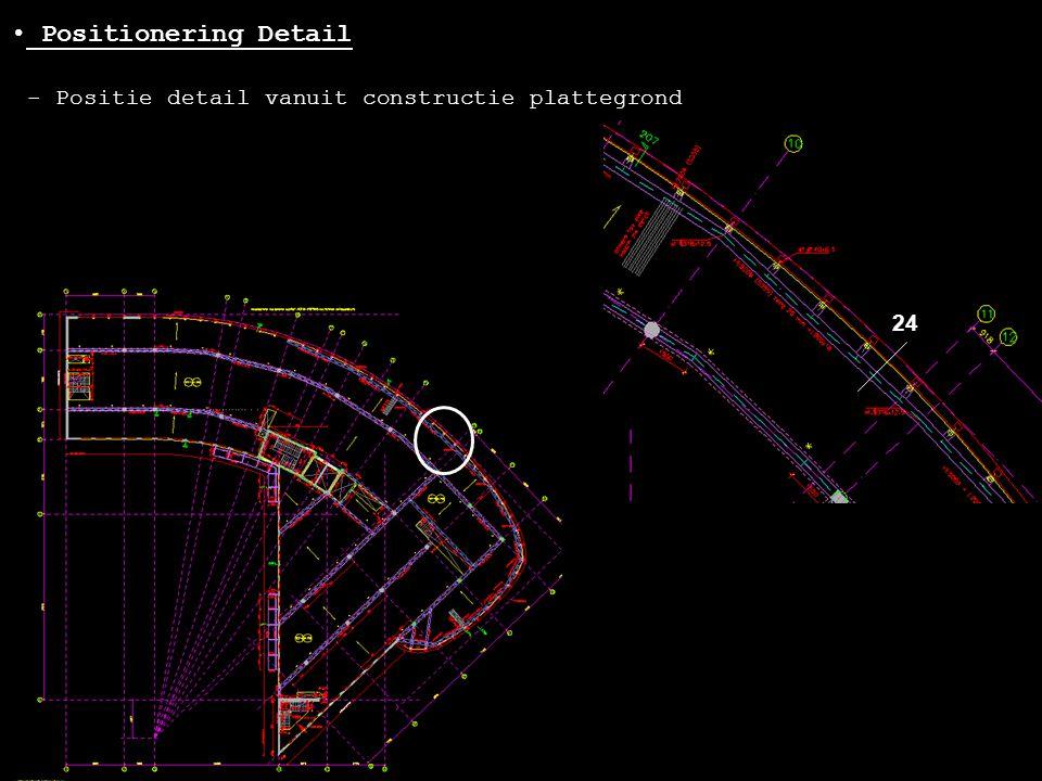 Positionering Detail - Positie detail vanuit constructie plattegrond
