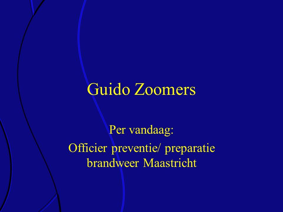 Per vandaag: Officier preventie/ preparatie brandweer Maastricht