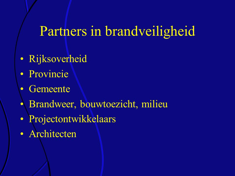 Partners in brandveiligheid