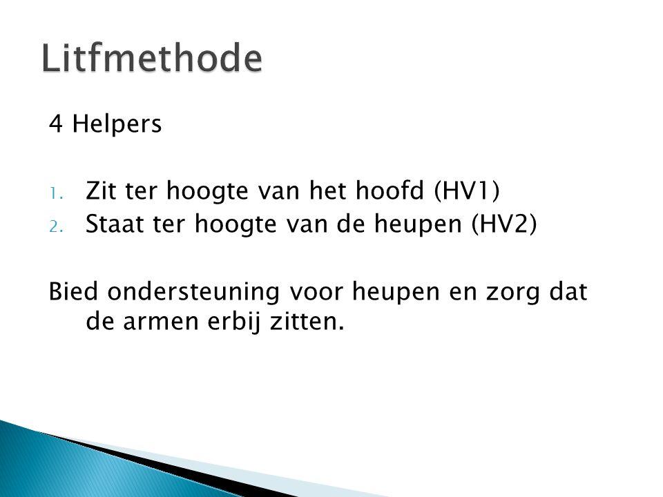 Litfmethode 4 Helpers Zit ter hoogte van het hoofd (HV1)