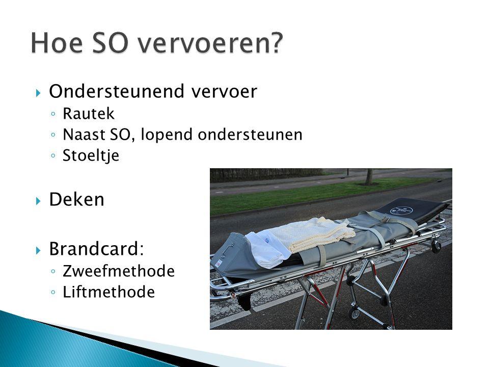 Hoe SO vervoeren Ondersteunend vervoer Deken Brandcard: Rautek