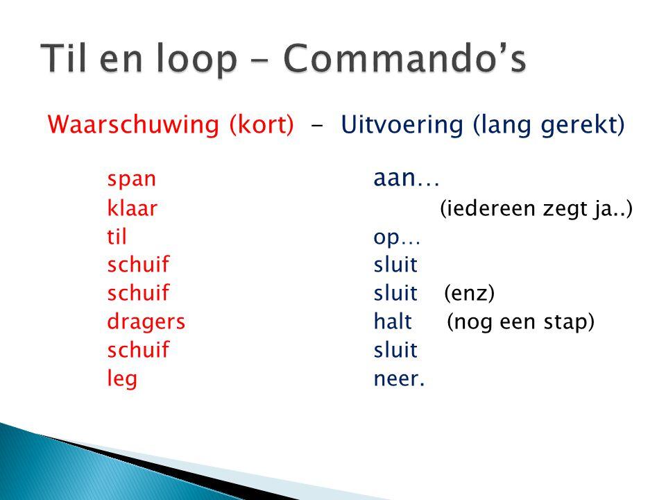 Til en loop - Commando's