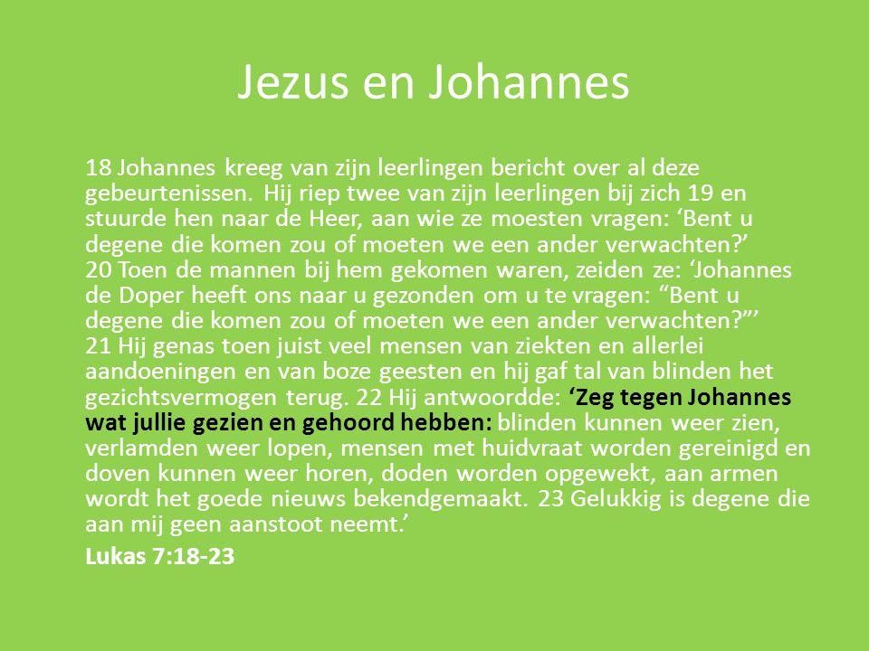 Jezus en Johannes