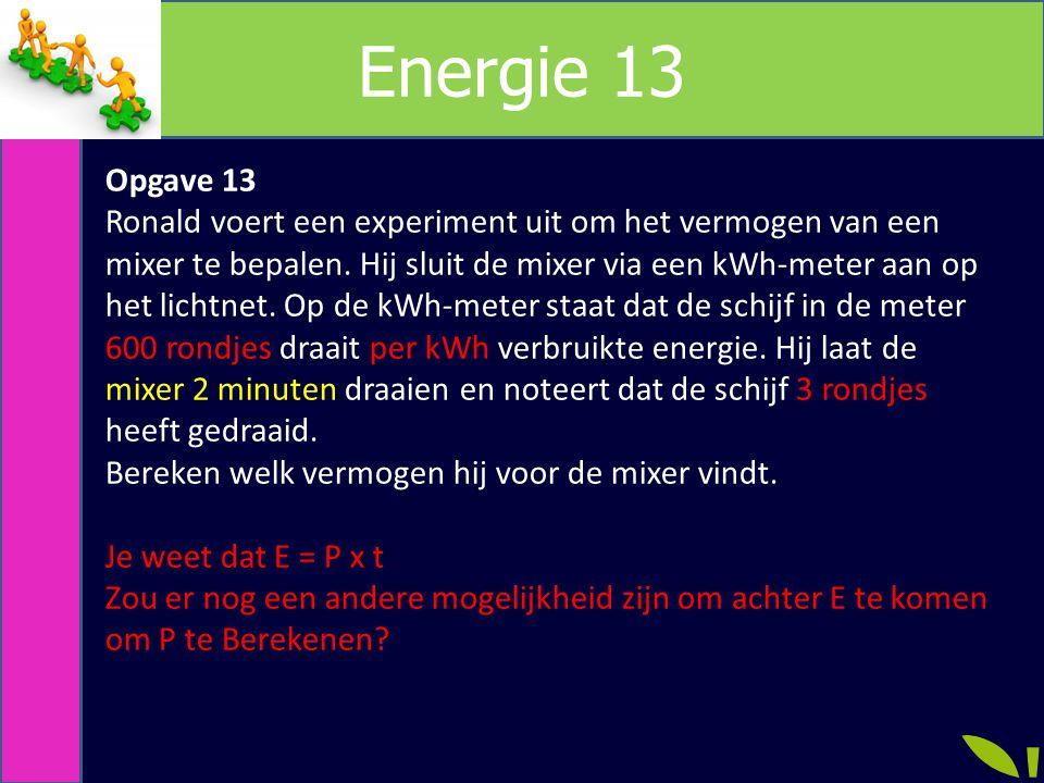 Energie 13 Opgave 13.