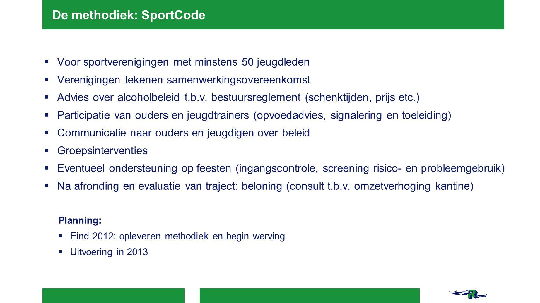 De methodiek: SportCode