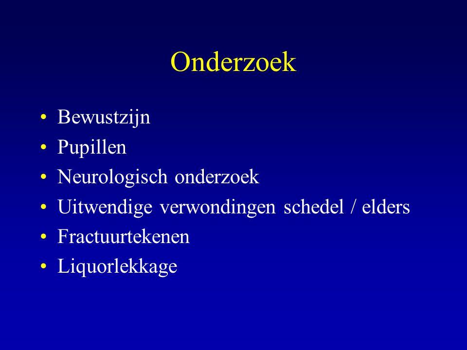 Onderzoek Bewustzijn Pupillen Neurologisch onderzoek