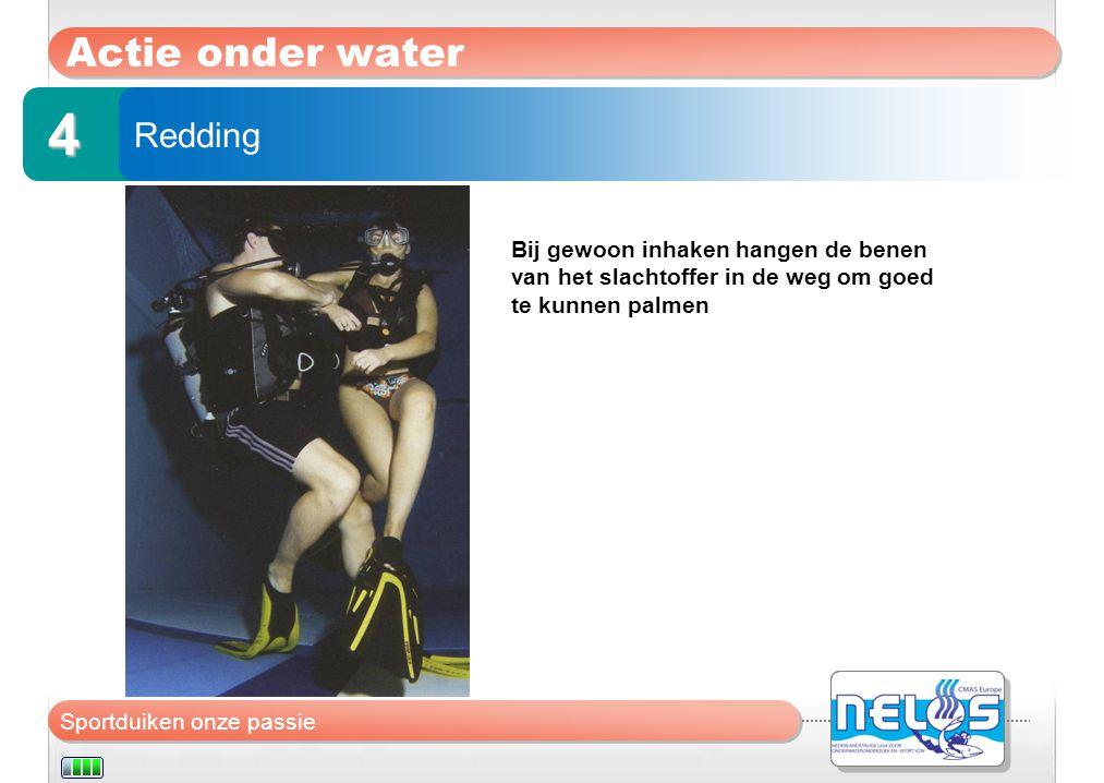4 Actie onder water Redding