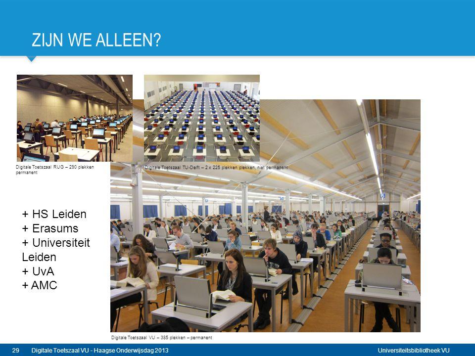 Zijn we alleEn + HS Leiden + Erasums + Universiteit Leiden + UvA